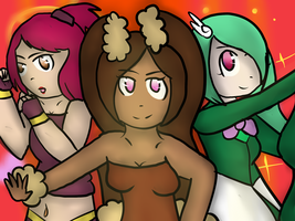 PMD Sky - Here Comes Team Charm!! by Minish-Mae