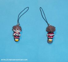Sora cell phone charm by lysen