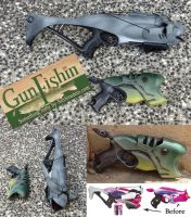 Nerf Rebelle shark Billy Bass mods - Gun Fishin! by GirlyGamerAU