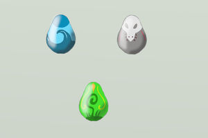 Adoptable Element Eggs! - CLOSED - by MicoNutziri