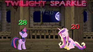 Pony Kombat Tournament Round 1, Battle 10 (Result) by Macgrubor
