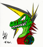 Statyk - Raptor Head by McTaylis