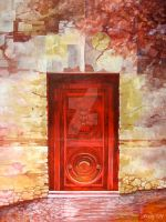 Red Door by zachlost