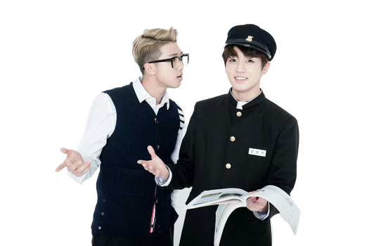 BTS 3rd Namjoon And Jungkook PNG by Nepnepty