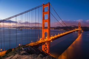 San_Francisco_Bridge by vishwasreddy