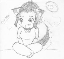 yaah it's chibi Puppy Ray by rays-animelover