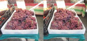 Stereograph - Grapes by alanbecker
