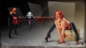 Bloodrayne 2 Collage by redfill