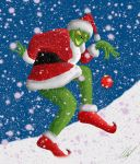 Merry Christmas from Grinch by MartinsGraphics