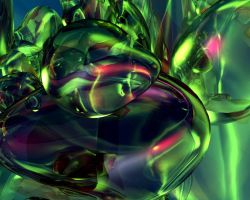 Luminous Flow 05 by Crazywulf