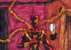 Iron Spider-Man's Arms by ChahlesXavier
