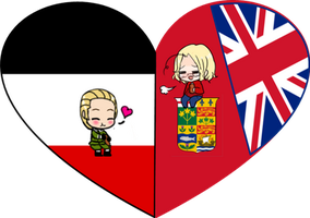 WWI GerCan Shimeji Heart by LadyAxis