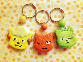 Nyan Piece Charms by Snuckledrops