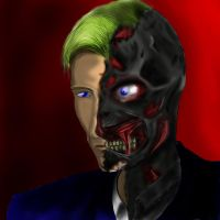 harvey dent TWO FACE by KimiSaku19