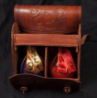 Potion's Case by Merrills-Leather