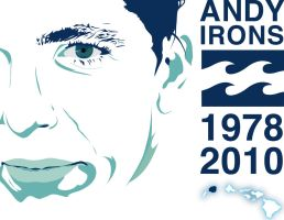 Andy Irons Tribute - Vector by ONGoingDrifter13