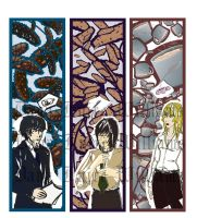 Death Note BookMarks - set 3 by FyireChilde