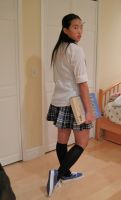 Private School  Girl 38 by imagine-stock