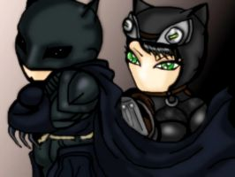 Batman n Catwoman Injustice by FallenCryingDevil
