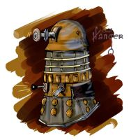 Rusty Dalek by CosararaWorld