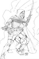 Drizzt Do'Urden by MikeDimayuga