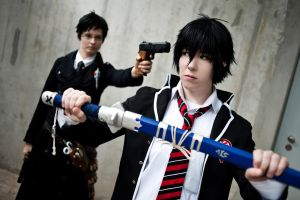 Ao no Exorcist - Stop it by KashinoRei