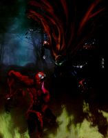 Spawn Vs Carnage by basterman1