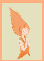 Flame Princess Doodles by netnavi20x5