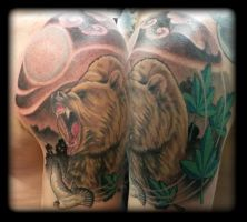 Bear by state-of-art-tattoo