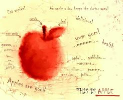 The venerable apple by elicenia