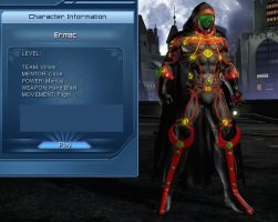 Ermac DCUO Profile by Zepwolfx