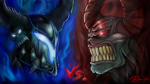 Dage The Evil VS Nulgath by Xzeromus