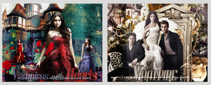 Vampire Diaries set of 2 Chapter Images by VaL-DeViAnT