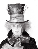 The Mad Hatter by Clergna