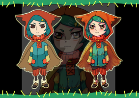 ADOPT-[open]-Chibi Red Hood by JS-AdoptS