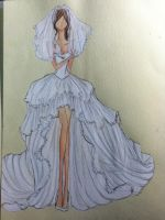 another wedding dress by phuongkonbanwa