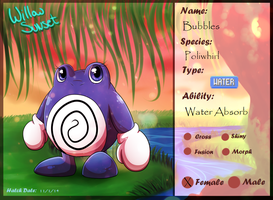 PKMNation | Bubbles by LunaStar52
