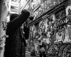 crossfire in Rutledge Lane by thespook