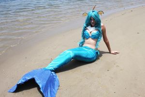 Vaporeon Pokemon Gijinka Mermaid by Alexamadden
