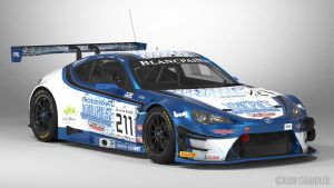 FIA-GT3 ICR Tricpics Toyota GT86 #211 by The-IC