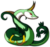 Jalorda the Serperior by DeathByDarkness