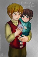 don't be afraid my little Frodo by Kiri-Yami