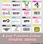 k-pop fandom colour folder icons by stopidd