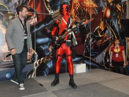 Deadpool.. with a guitar! by nx20
