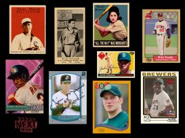 9 Movie Baseball Cards by maxevry