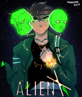 Alien X Ben 10 by Promsien