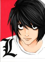 L: DeathNote by animeadict