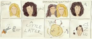 Brian May comic by MarkieKnopflie