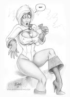 Powergirl by Bikerbloke