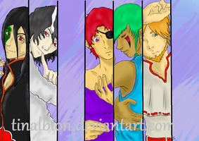 My Male OCs by Tinalbion